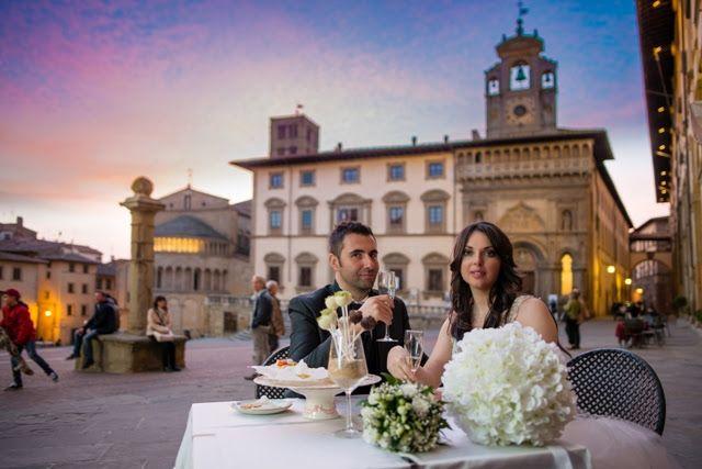 """Sempre più stranieri scelgono l'Italia e la Toscana per dirsi """"si"""""""