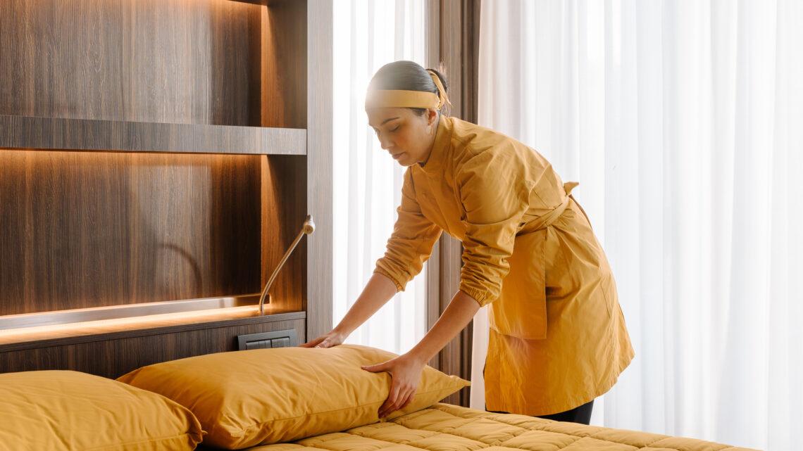 Vi presentiamo la prima collezione per hotellerie con tessuto anti-Covid. FOTO